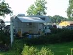 Caravans - met water- en elektriciteitsaansluitingen