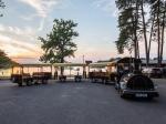 Výletní vláček - Kemp Bezdrev - Západ slunce
