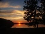 Západ slunce - kemp Bezdrev