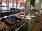 Restaurace Bezdrev - kuchyně -