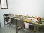 nerezový kuchyňský kout - kemp Bezdrev